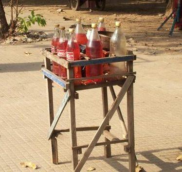 bouteilles d'essence
