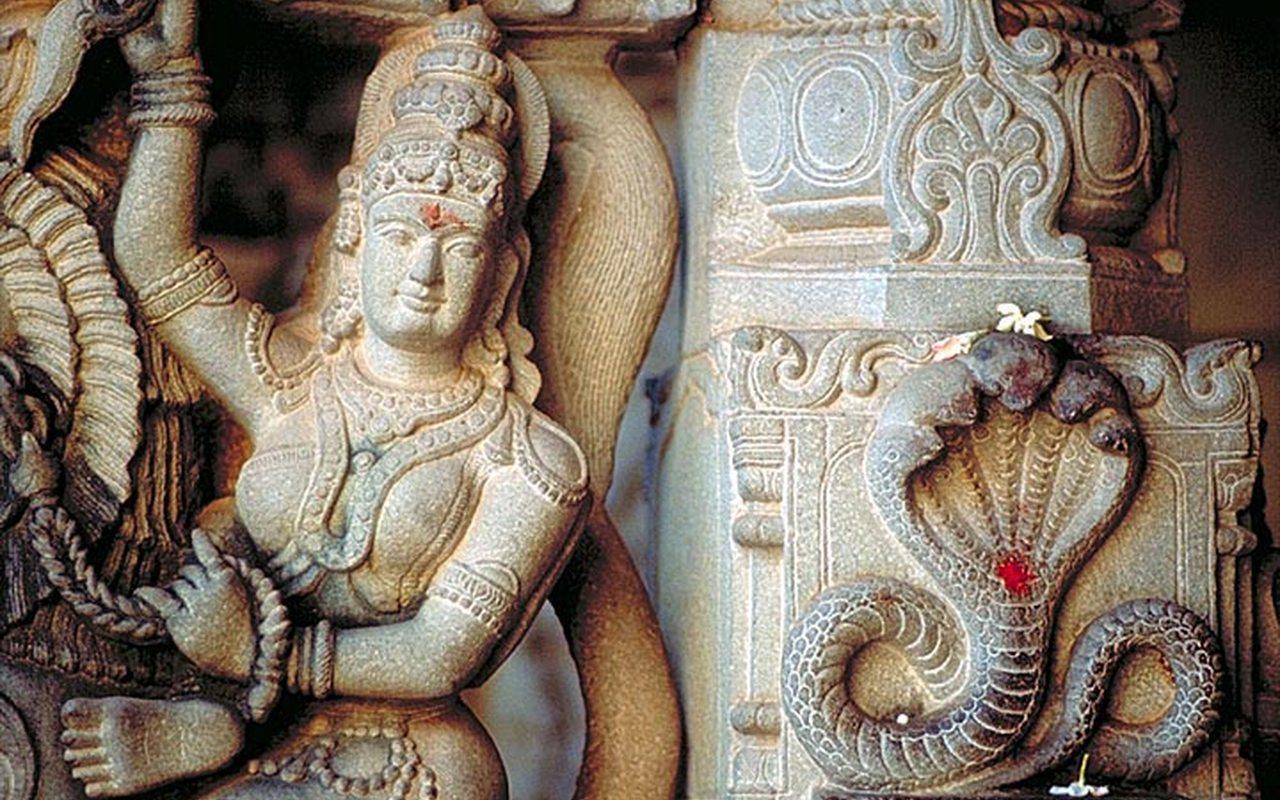 sculture temple